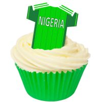 CDA Wafer Paper Pack of 12 Nigeria Football Shirts