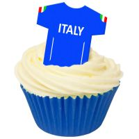 CDA Wafer Paper Pack of 12 Italy Football Shirts