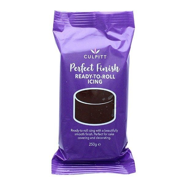 Culpitt Perfect Finish Ready to Roll Icing - Chocolate Flavour 250g - single. 647003