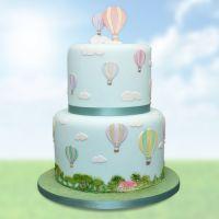 Patchwork Cutters:   Hot Air Balloons, Umbrella & Parachute