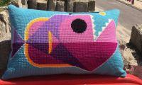 Emily Peacock: Cross Stitch Kits - Anglerfish