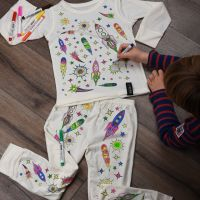 Selfie Clothing: Space Adventure Colour In Pyjamas