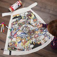Selfie Clothing: Superhero Comic Colour In Cape