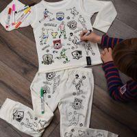 Selfie Clothing: Football Heroes Colour In Pyjamas
