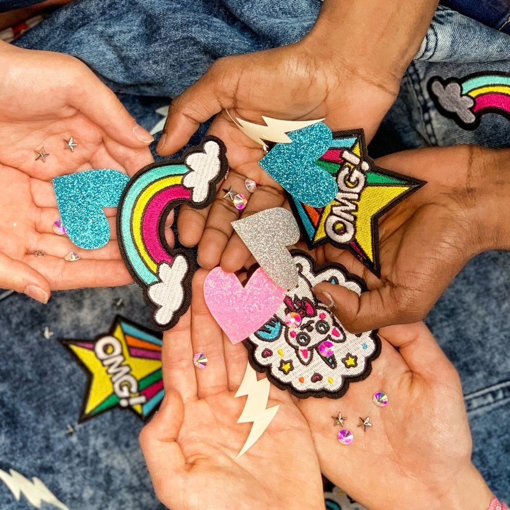 Selfie Clothing: Dare To Dream Embellishment Patch Kit