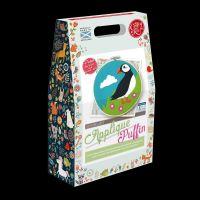 Crafty Kit Company: Scottish Puffin Felt Applique Kit