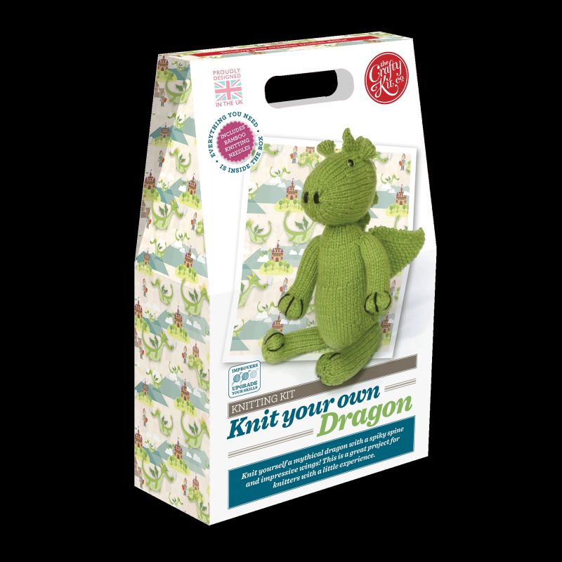 Crafty Kit Company: Knit your own Dragon