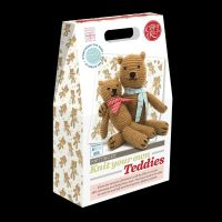 Crafty Kit Company: Knit your own Teddies