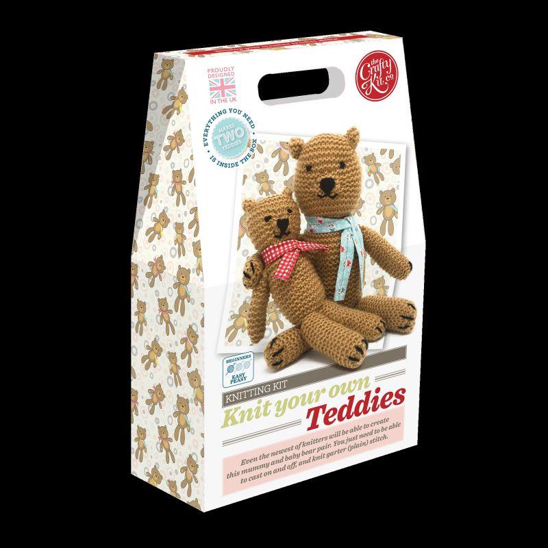 Crafty Kit Company: Knit your own Teddies
