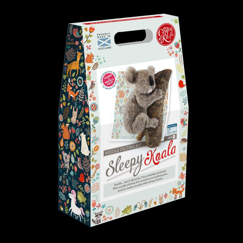 Crafty Kit Company: Needle Felting Kits