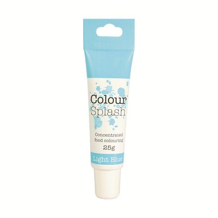 Colour Splash Gel - Light Blue - 25g - Single.  675499