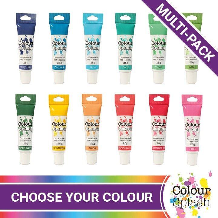 ColourSplash Colour Gel - 5 Pack