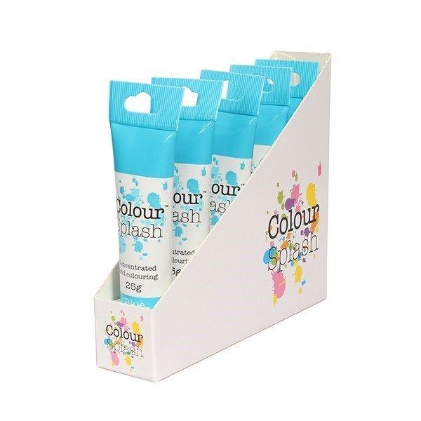 Colour Splash Gel - Blue - 25g. Pack of 5. 75061