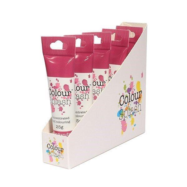 Colour Splash Gel - Burgundy - 25g. Pack of 5. 75072
