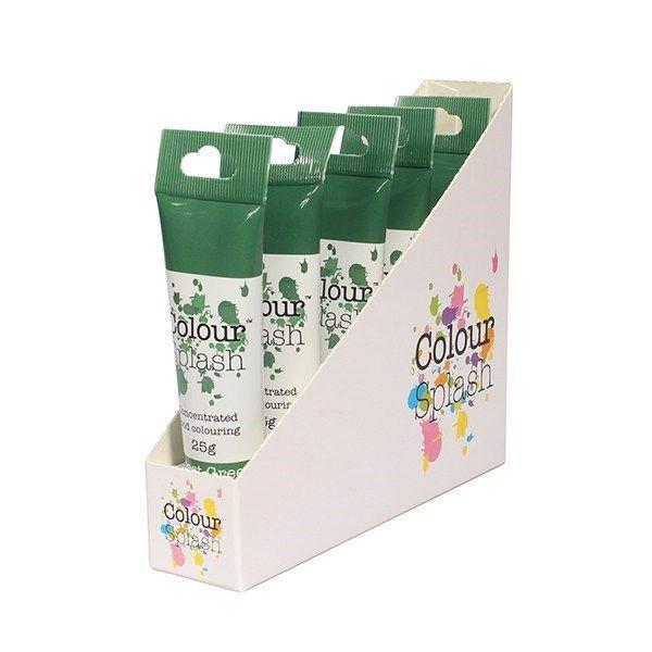 Colour Splash Gel - Forest Green - 25g. Pack of 5. 75070