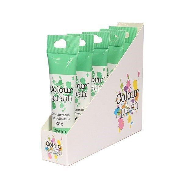 Colour Splash Gel - Green 25g. Pack of 5. 75059