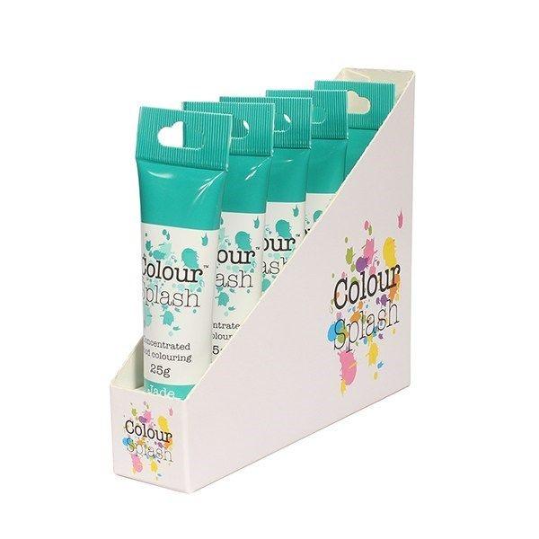 Colour Splash Gel - Jade - 25g. Pack of 5. 75064