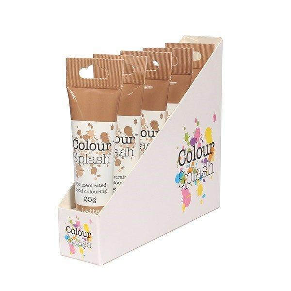 Colour Splash Gel - Latte - 25g. Pack of 5. 75063