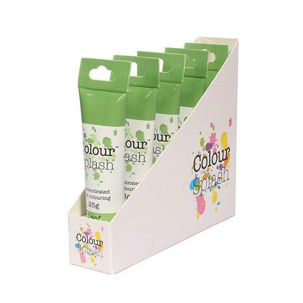 Colour Splash Gel - Leaf Green - 25g. Pack of 5. 75078