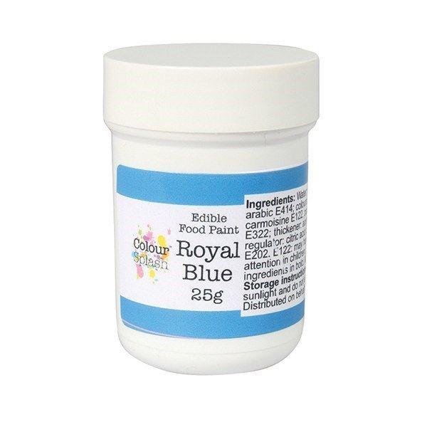 Colour Splash Edible Paint - Matt Royal Blue 25g. 75201