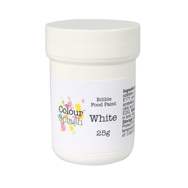 Colour Splash Edible Paint - Matt White 25g. 75194