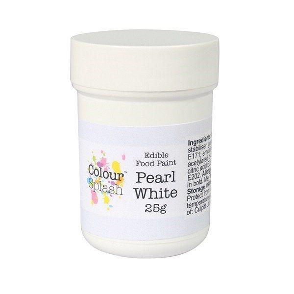 Colour Splash Edible Paint - Pearl White 25g. 75190