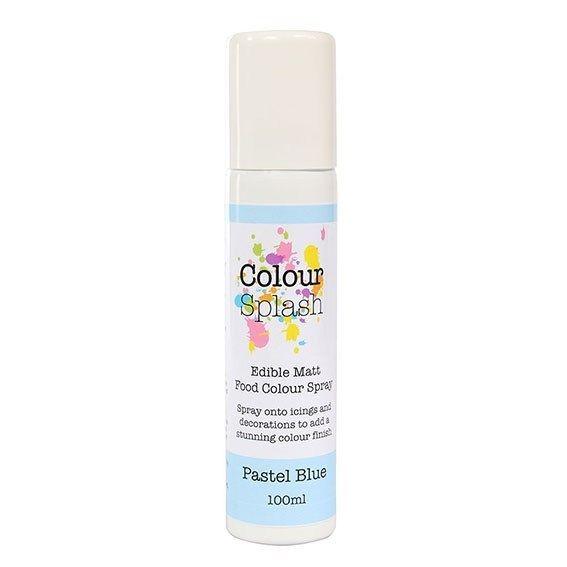 Colour Splash Edible Food Colour Spray Pastel Blue 100ml. 75039