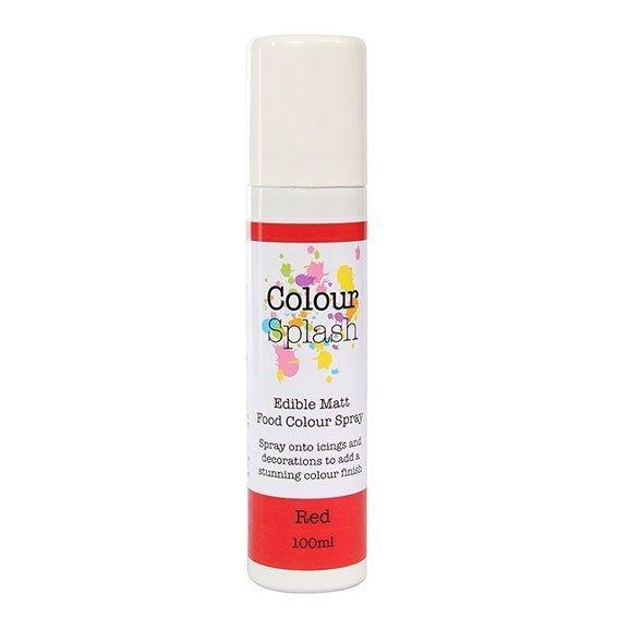Colour Splash Edible Food Colour Spray Red 100ml. 75041
