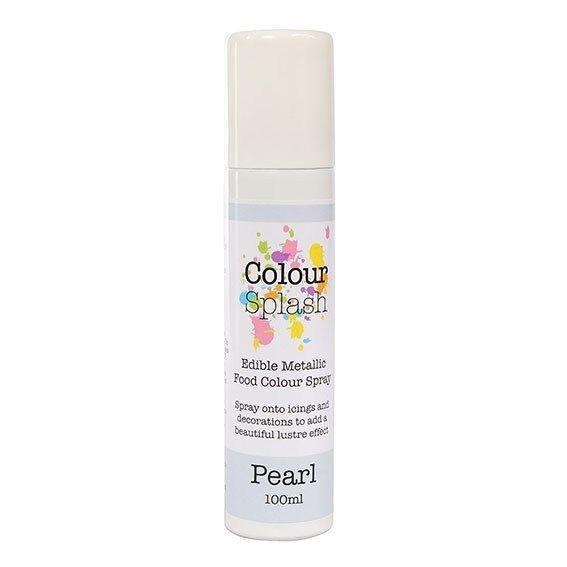 Colour Splash Edible Food Colour Spray Pearl 100ml. 75032