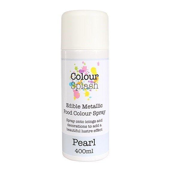 Colour Splash Edible Food Colour Spray Pearl 400ml. 75028