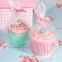 15310  Cupcake Gift Bag With Base - 12 Piece