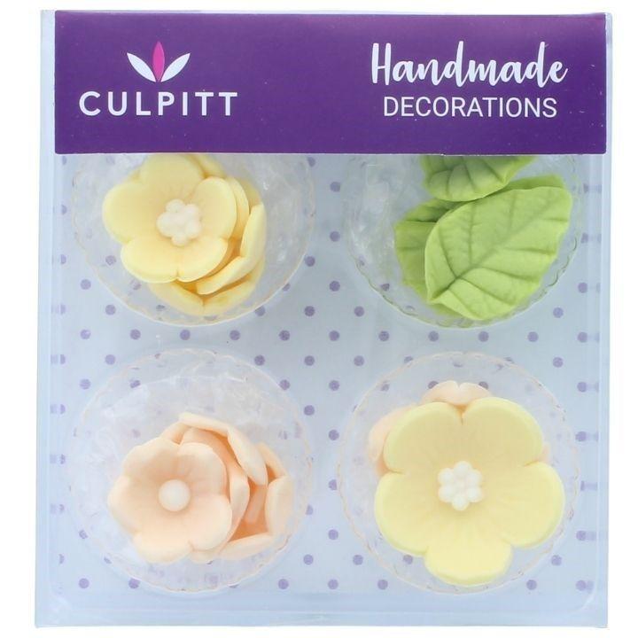 CULPITT  Lemon Flower And Leaves - 16 Pieces-Single. 6499