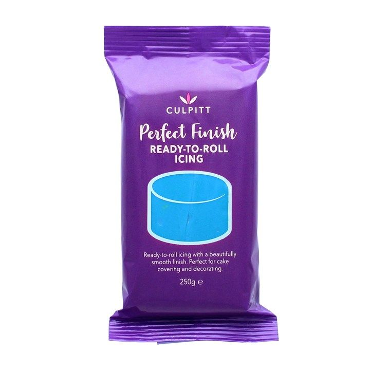 Culpitt Perfect Finish Ready To Roll Icing - Blue 8 X 250g . 47005