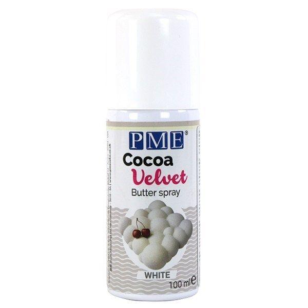 PME Cocoa Velvet Butter Spray - White 100ml. PACK OF 1.  44058