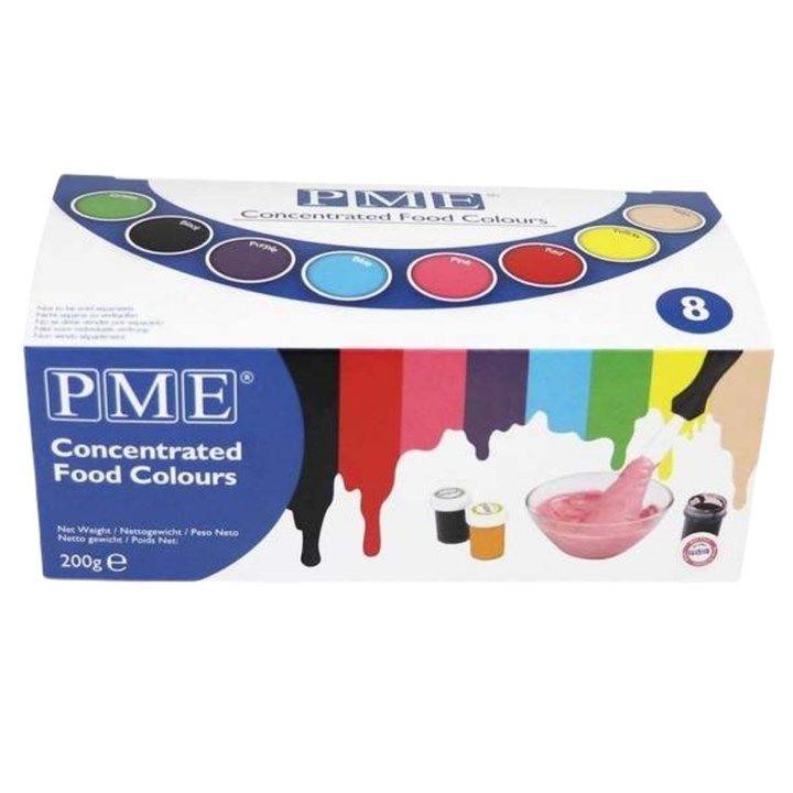 PME Paste Colour Set. PACK OF 1.  5552