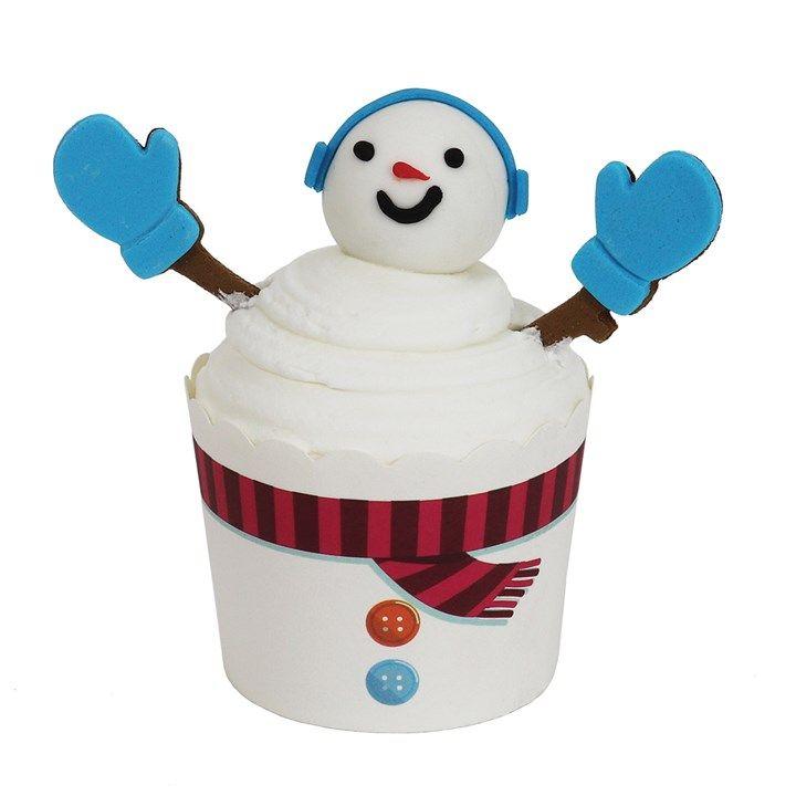 PME - Cup Kit - Snowman - 6 Sets. 44061