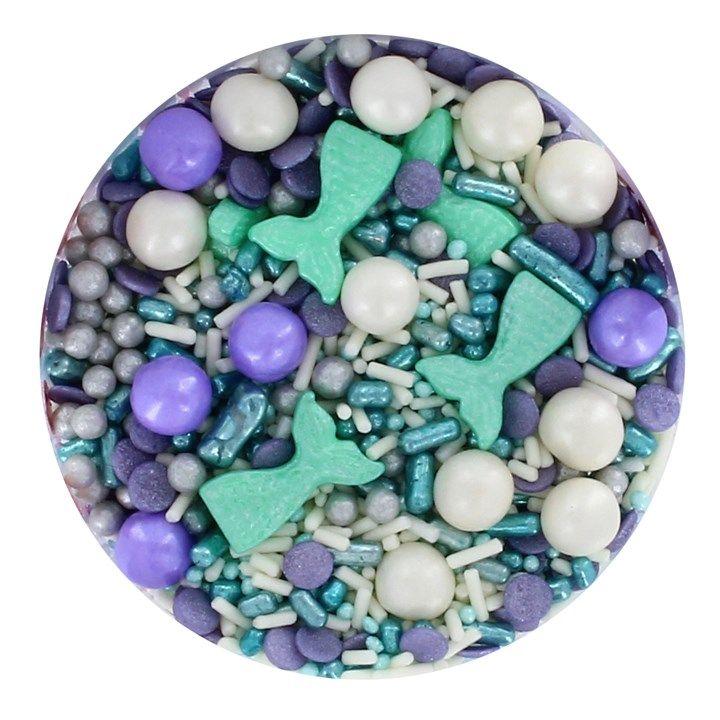 Purple Cupcakes - Mystical Mermaid Sprinkle Mix 90g. 25164