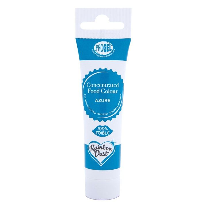 Rainbow Dust ProGel® Concentrated Food Colour Azure 25g. 5945