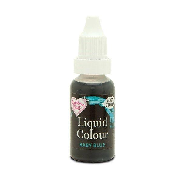 Rainbow Dust Liquid Colour - Baby Blue - Loose Pot. 554950