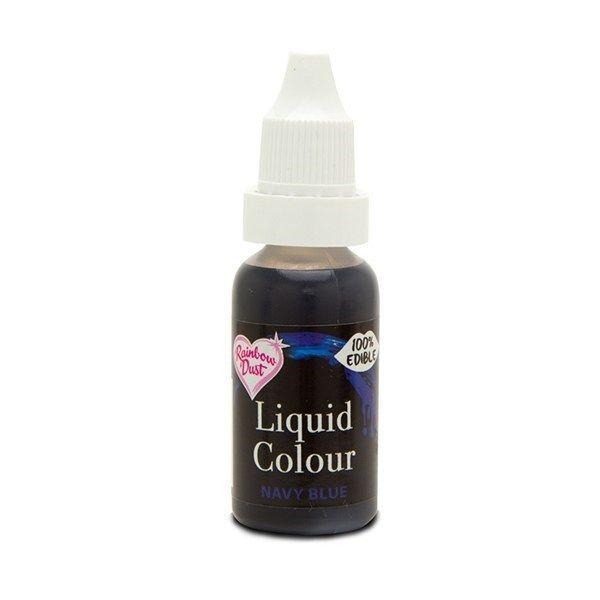 554890  Rainbow Dust Liquid Colour - Navy Blue - Loose Pot