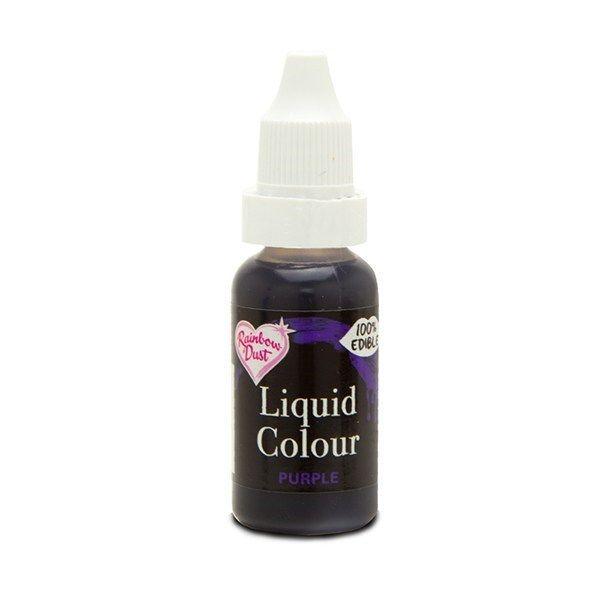 554870  Rainbow Dust Liquid Colour - Purple - Loose Pot
