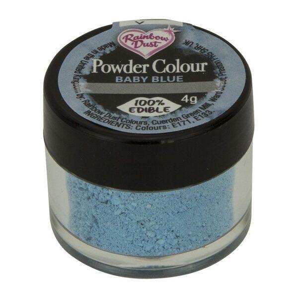 Rainbow Dust Powder Colour - Baby Blue  - loose pot. 552600