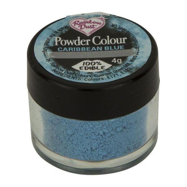 Rainbow Dust Powder Colour - Caribbean Blue  - loose pot. 553390
