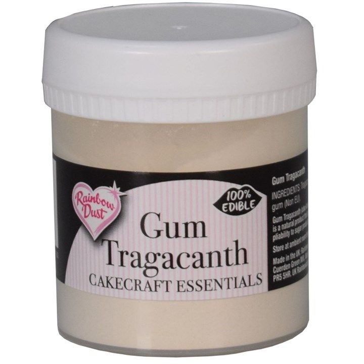Rainbow Dust Sugarcraft Essentials Gum Tragacanth 50g. 5534090