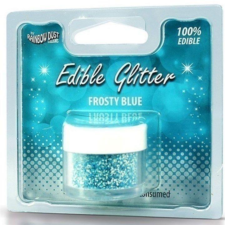 Rainbow Dust Edible Glitter - Frosty Blue - RP. 555920
