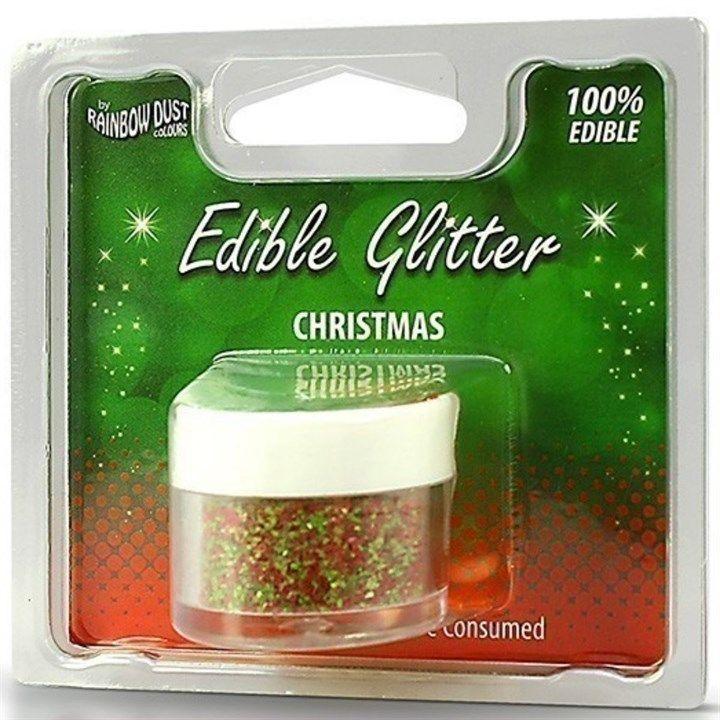 Rainbow Dust Edible Glitter - Christmas - RP. 555970
