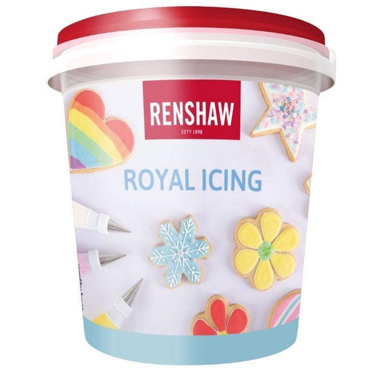 Renshaw Royal Icing - White - 400g - Pack Of 4. 5860