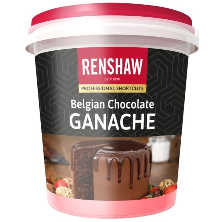 Renshaw Belgian Chocolate Ganache -350g - Single. 605861
