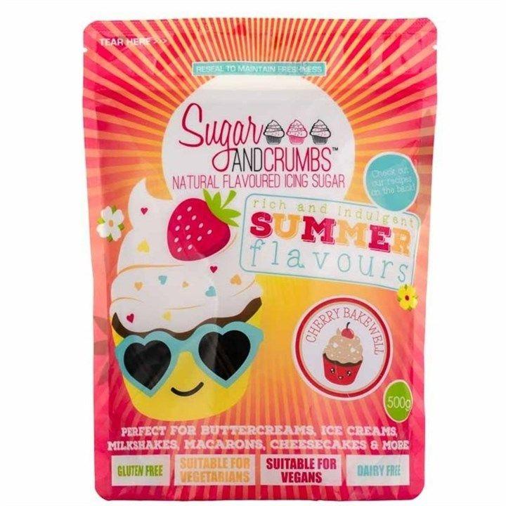 Sugar & Crumbs Cherry Bakewell 500g. 6550