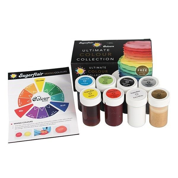 Sugarflair Ultimate Paste Collection 8 X 25g. 50300C